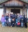 Dziecięca Akademia Przyszłości - wycieczka do Muzeum Wsi Radomskiej 13.11. 2012
