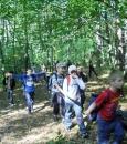 Rajd z pedagogiem po Puszczy Kozienieckiej 2010