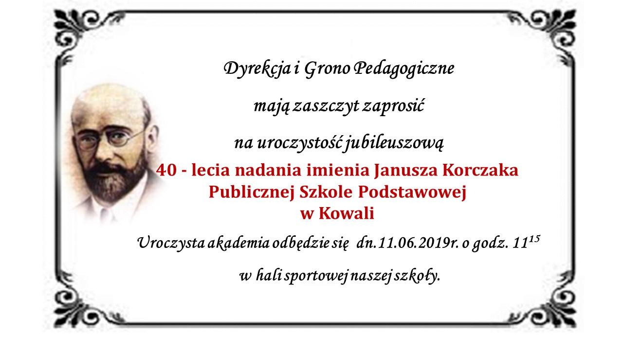 Czterdzieści Lat Z Januszem Korczakiem Projekt